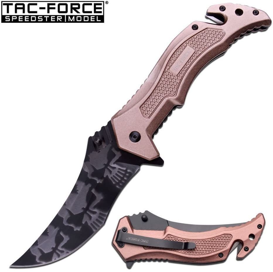 New Spring-Assist Folding ProTactical Limited Edition Elite Knife | Tac-Force 4