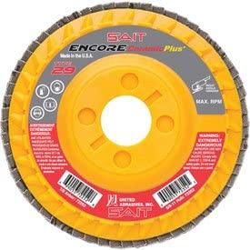 United Abrasives - Sait 72253 Encore Flap Disc Type 29 4-1/2