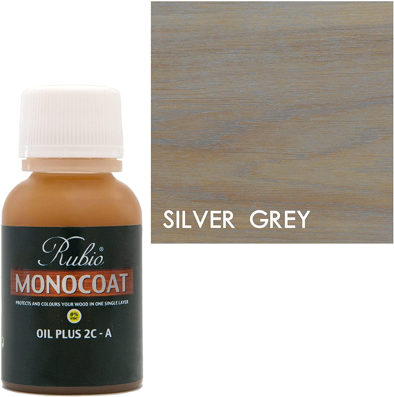 Rubio Monocoat Oil Plus Part A, SILVER GREY, 100ML