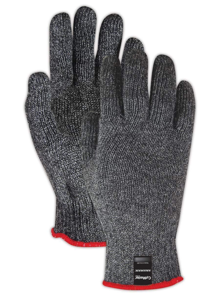 Magid Glove & Safety AXB200-11 Magid Cut Master Aramex AXB200 Medium Weight Knit Gloves - Cut Level 4, 11, Green , 11 (Pack of 12)