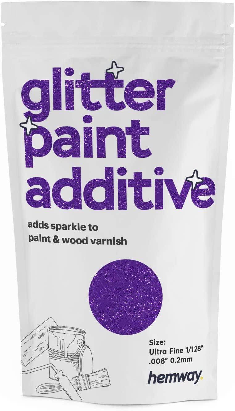 Hemway Glitter Paint Additive Ultrafine 1/128