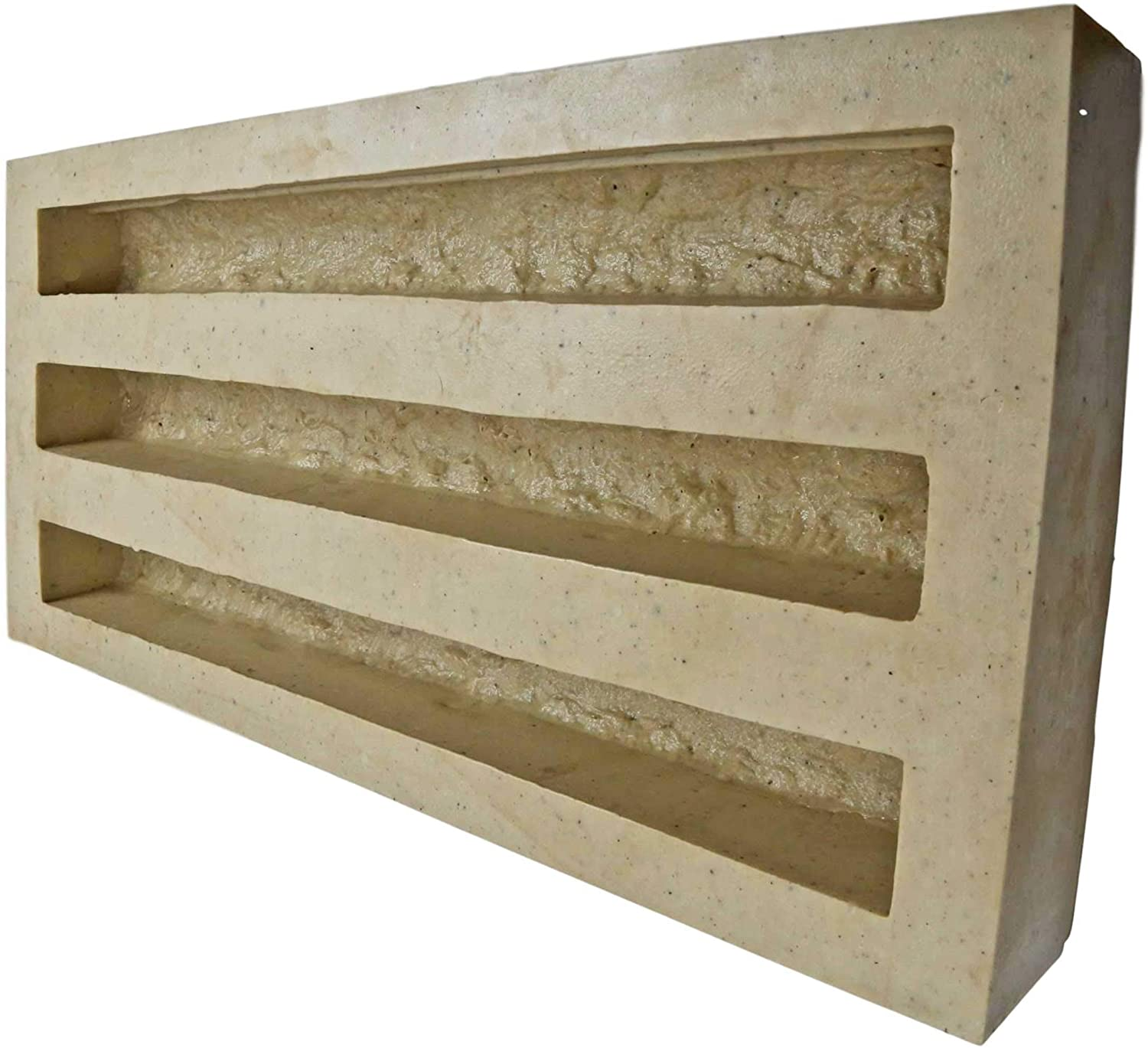 Veneer Stone Rubber Molds for Concrete, Water Table 24