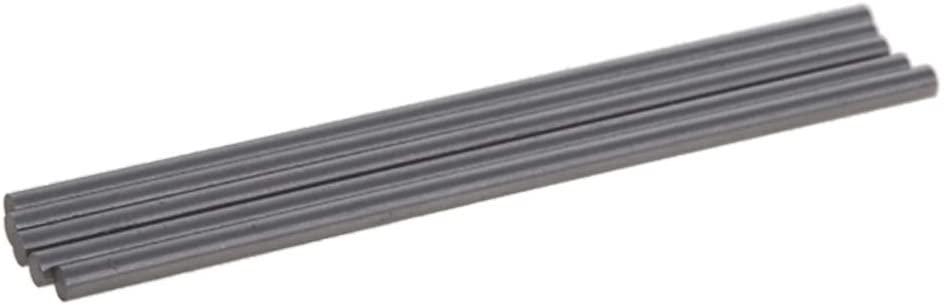 Utoolmart Round Rod 3.5mm Diameter 100mm Length HSS Lathe Bar Stock for Shaft Miniature Axle DIY Craft Tool 10 Pcs
