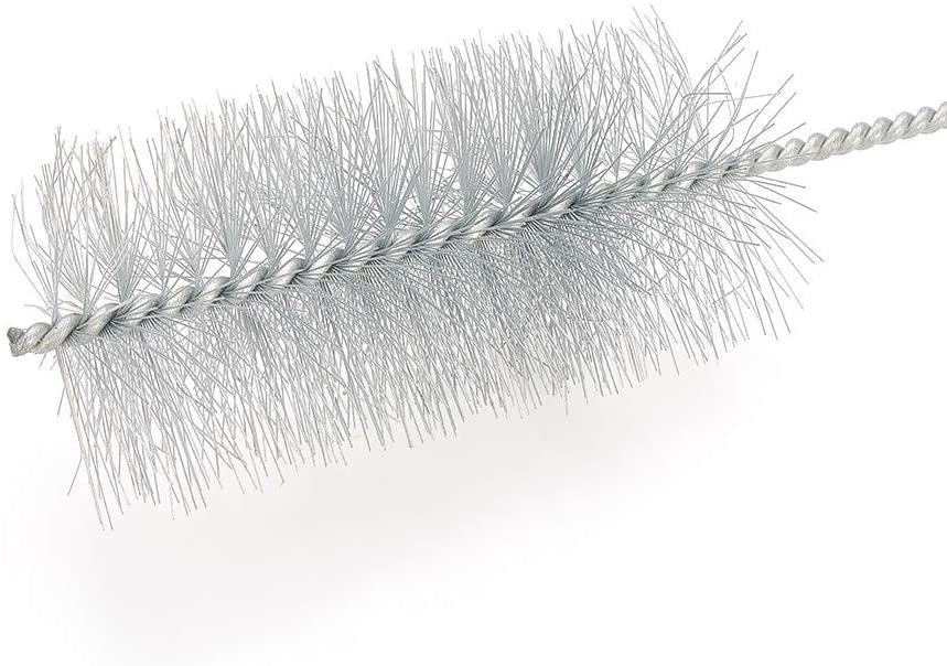 Utoolmart 50mm Diameter Steel Wire Cleaning Brush 300mm Length 5Pcs