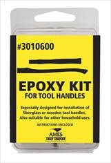 Ames 3010600 - True Temper Epoxy Kit or Accessory, Application: Sealing, Material Compatibility: Fiberglass, Wood, Includes: Instructions