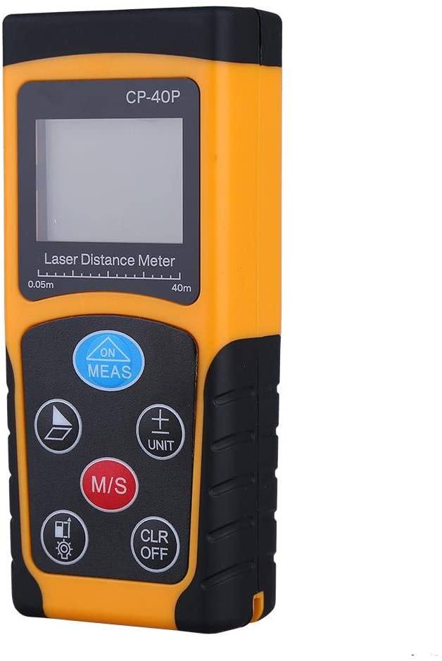 Canyita Distance Meter, High Accuracy Automatic Handheld Digital Compact Measure Range Finder for Distance Measurement, Construction, Industries,ect (40m)