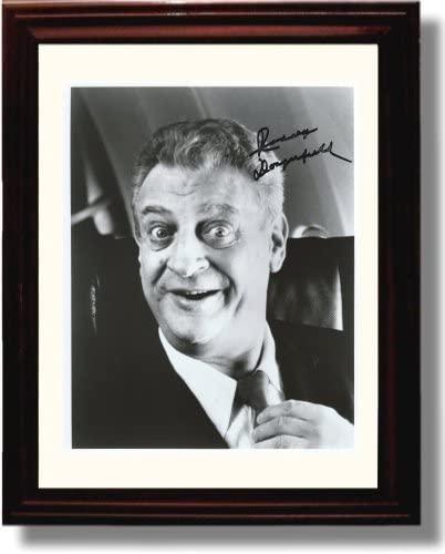 Framed Rodney Dangerfield Autograph Replica Print
