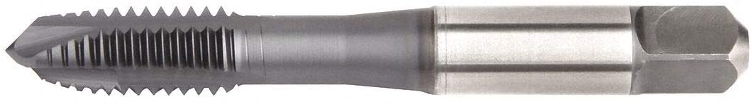 Spiral Point Tap, Thread Size #8-32, UNC, Overall Length 2.1200