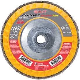 United Abrasives - Sait 72353 Encore Flap Disc Type 29 4.5