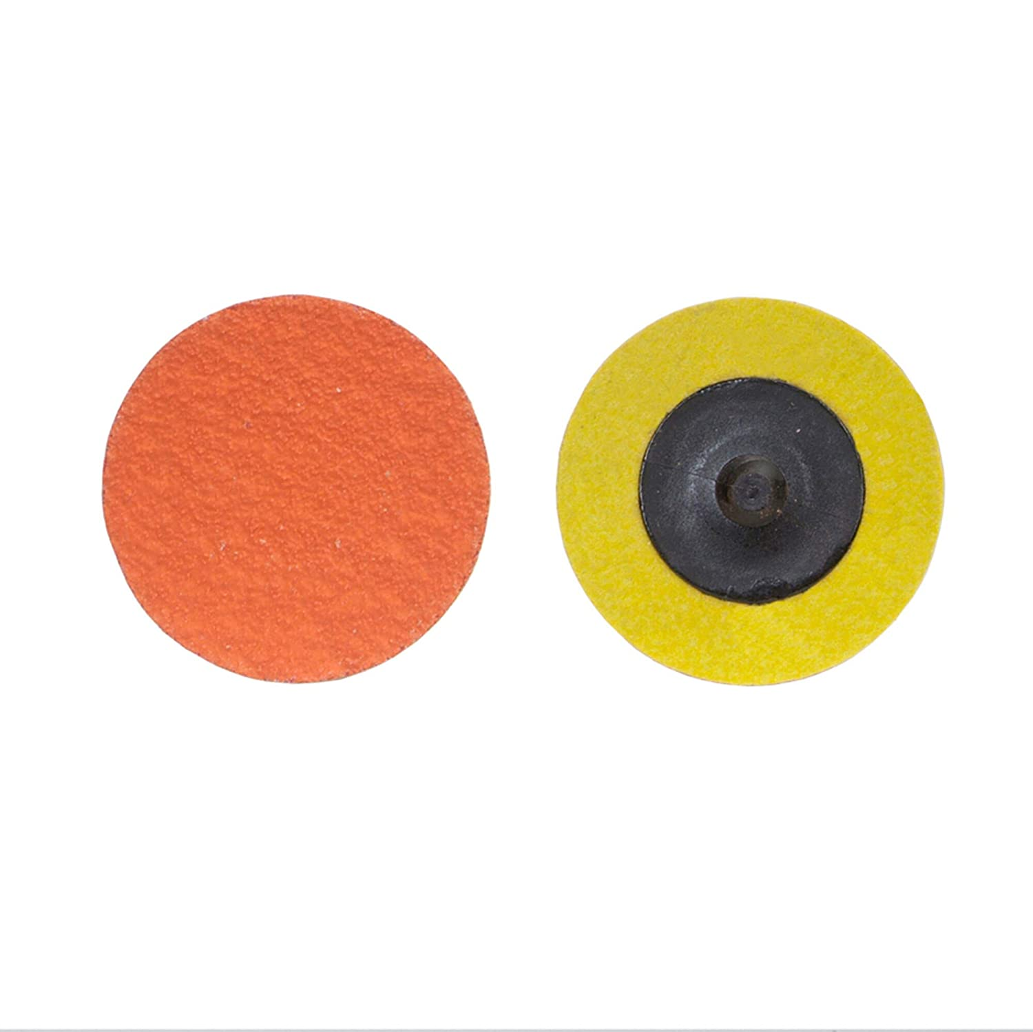 Norton R980P SG Blaze 3-Ply Speed-Lok Abrasive Disc, Polyester Backing, TR, Ceramic Aluminum Oxide, 2 Diameter, Grit 120 (Pack of 25) Size: 2 Model: 66261043386 Misc.