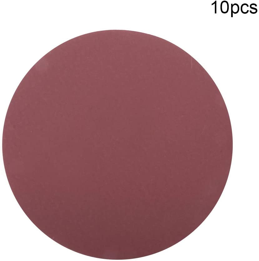 Utoolmart 9 Inch Sanding Disc 1200 Grits Sandpapers for Sander 10 Pcs