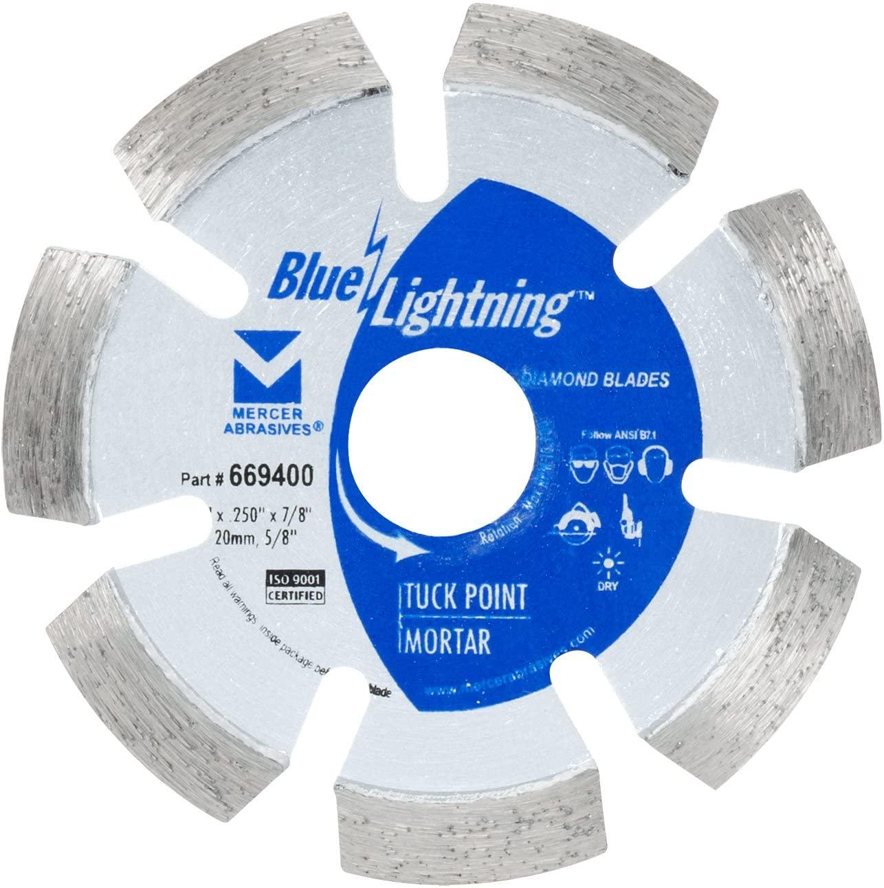 Mercer Abrasives 669400 Tuck-Point Diamond Blade, 4-Inch