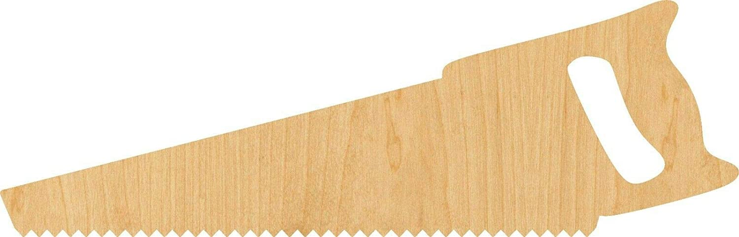Toyensnow - Saw Laser Cut Out Wood Shape Craft - Woodcraft (Thickness: 1/4