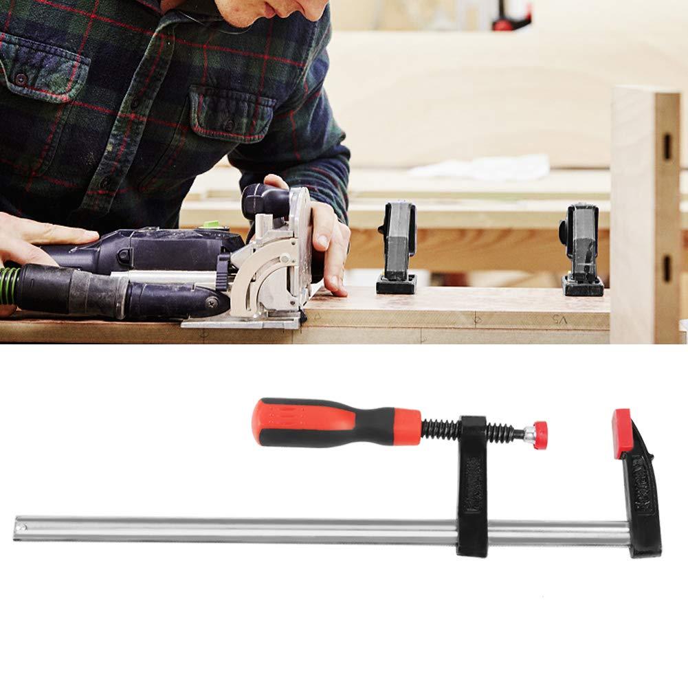 hongxinq hongxinq 2pcs Heavy Duty F Clamps Woodworking Bar Clips Quick Slide DIY Hand Tool