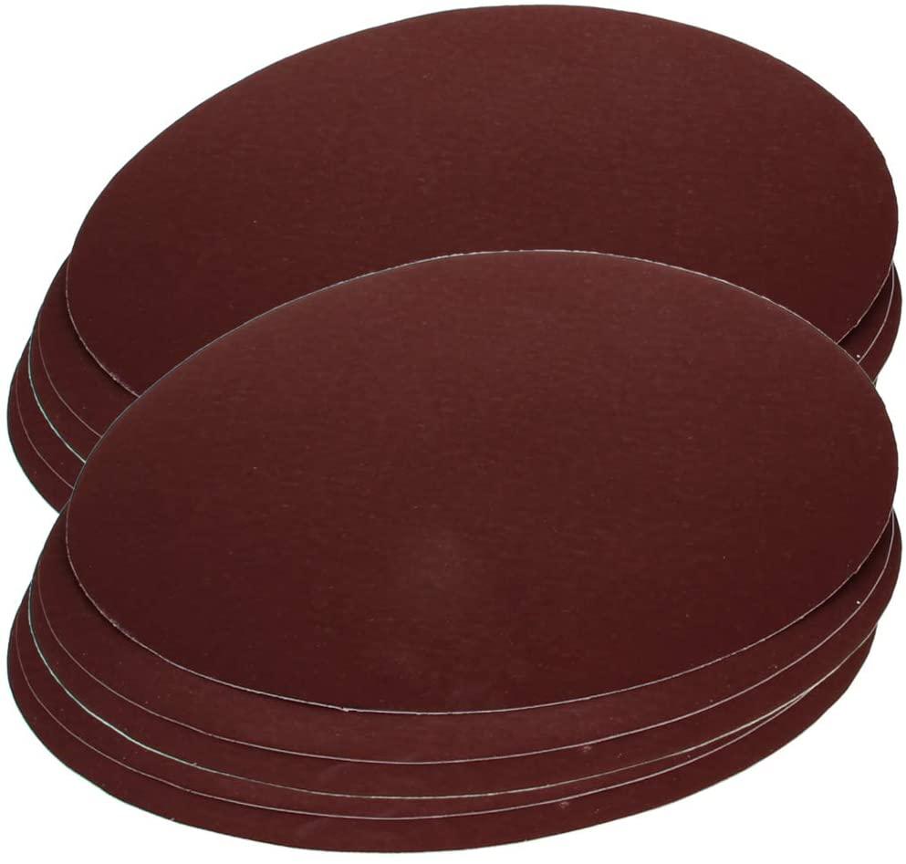 Utoolmart 10-inch 250mm Sanding Discs 1200 Grits Self Stick Adhesive Back Aluminum Oxide Sandpaper 10pcs