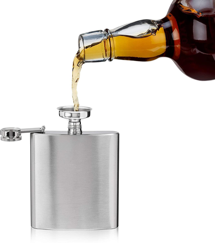 True Trueflask Stainless Steel Flask, 6 oz, Multicolor