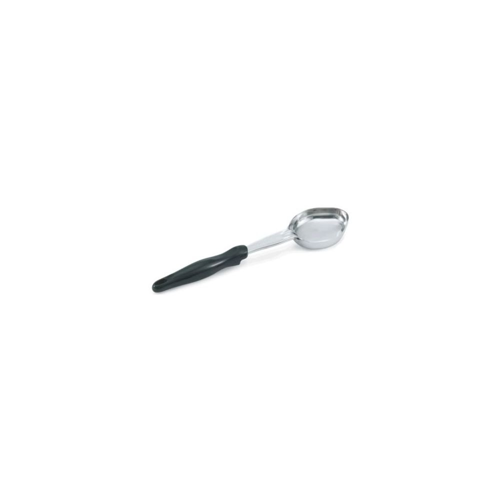 Vollrath 61174 Black Handled 5 Ounce Solid S/S Spoodle