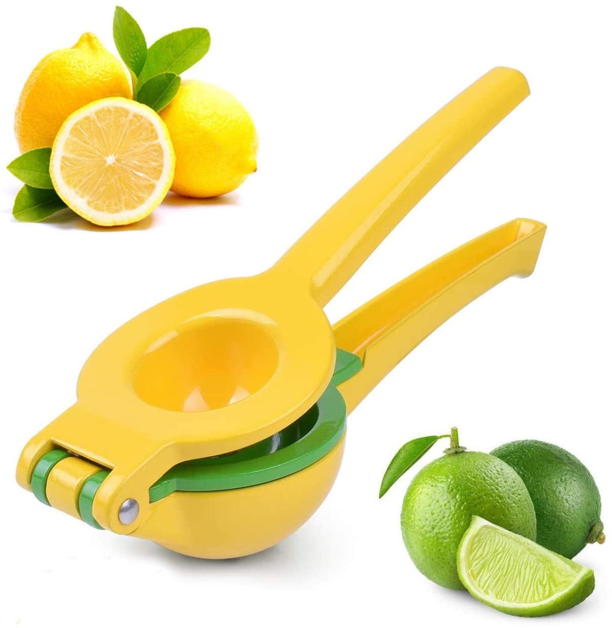 BEKKA 2-IN-1 PREMIUM METAL STAINLESS STELL ALUMINIUM MANUAL CITRUS SQUEEZER JUICER LEMON LIME SMALL ORANGES