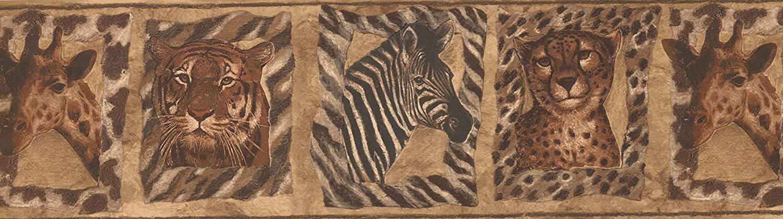 Animals Wallpaper Border NA016121