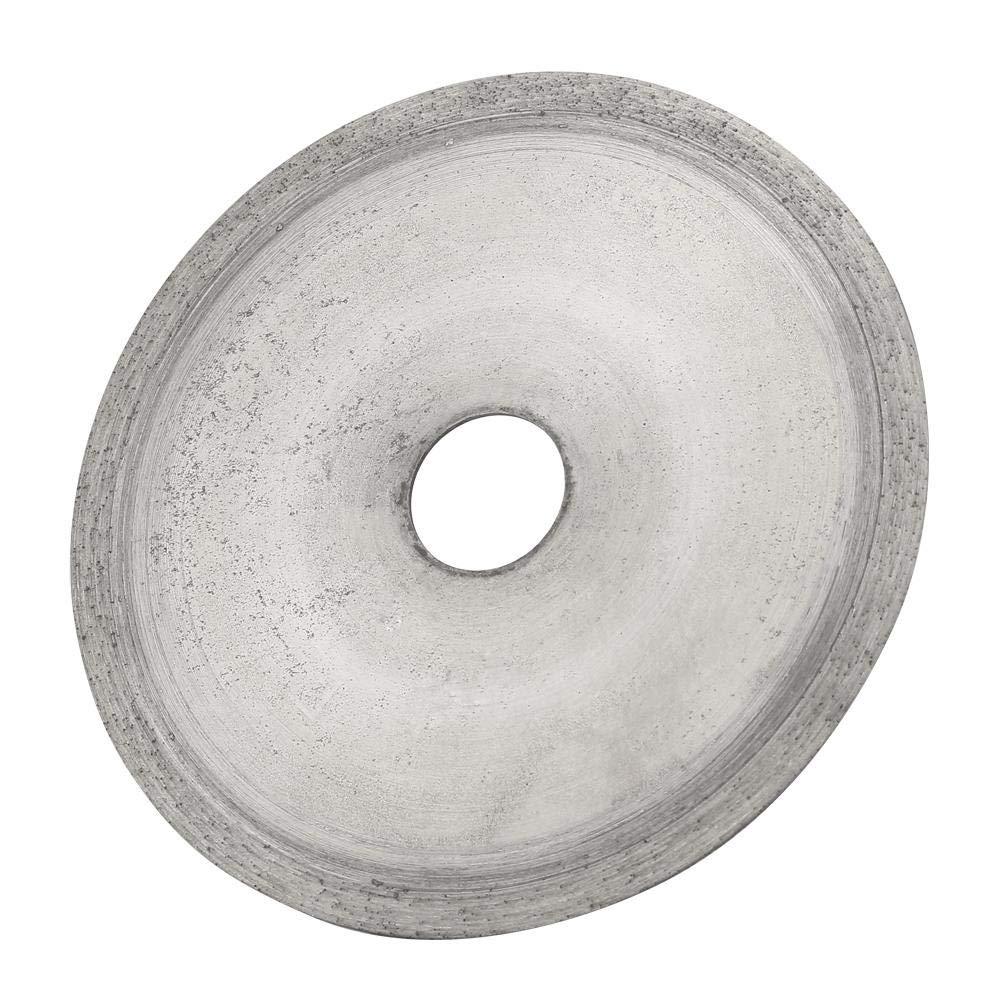 Diamond Saw Blade, 160mm Diamond Cutting Wheel, Diamond Disc Saw Blade, for Glass, Crystal, Jade Agate, Lapidary (2#)