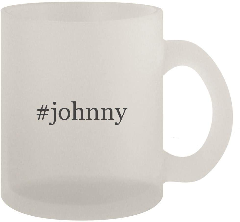 #johnny - 10oz Frosted Coffee Mug Cup, Frosted