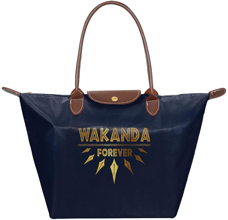 Retrom-Market Wakanda Folding Dumpling Handbag