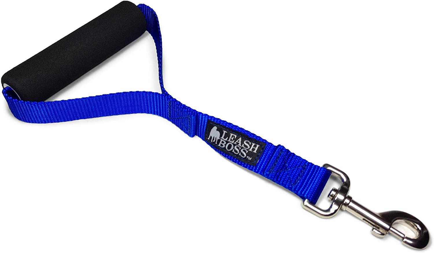 Leashboss Traffic Handler - Short Dog Leash with Traffic Handle for Large Dogs for Double Dog Couplers, Service Dogs, and Training