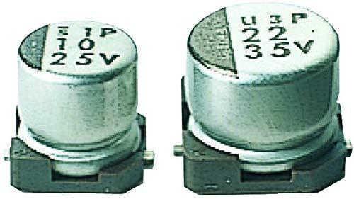Nichicon UWT1E101MCL1GS Aluminum Electrolytic Capacitor 100uF 25V 20%, Smd