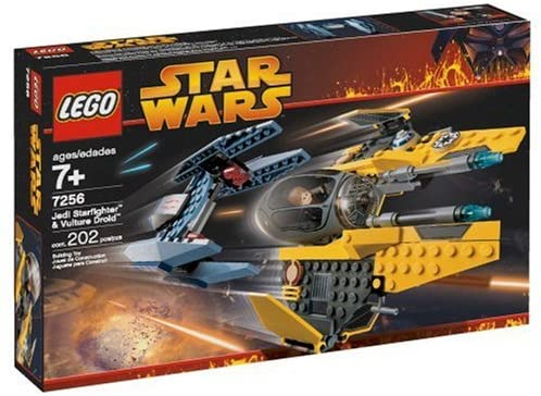LEGO Star Wars Jedi Starfighter and Vulture Droid