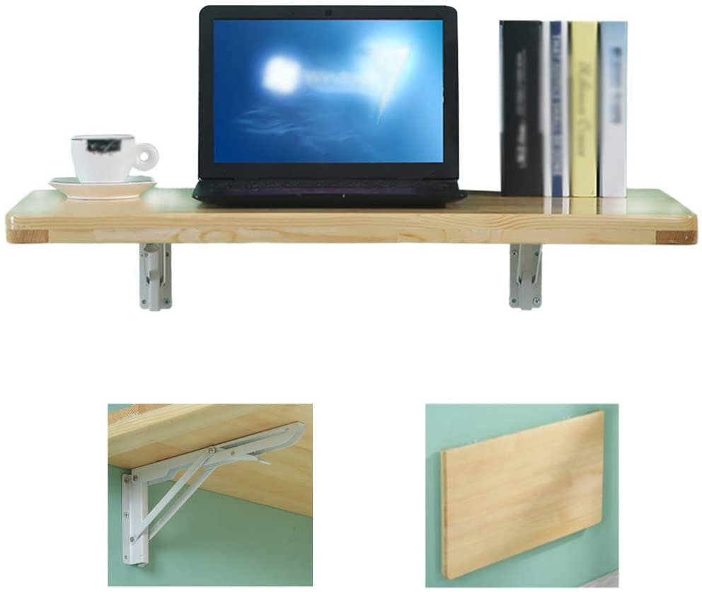 MTYLX Table,Desk,Multi-Function Computer Writing Dining Home Office Desk,Workbenches,Size Optional(Wood Color),12050Cm,12050Cm