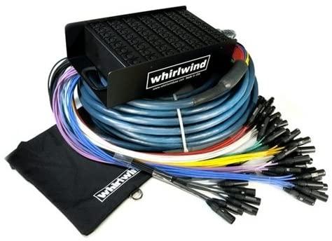 Whirlwind Audio Snake MEDUSA ELITE, 32 XLR inputs, no returns, 50'