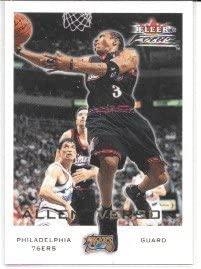 Allen Iverson 2000-01 Fleer Focus Philadelphia 76ers Card #159