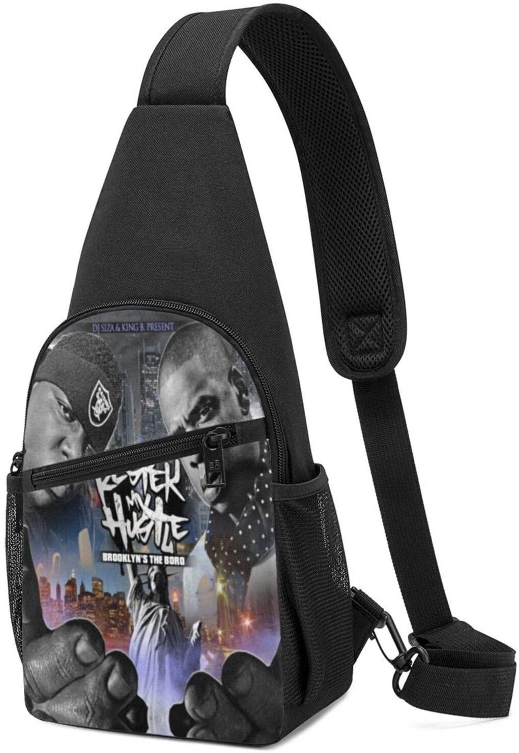 Jay-Z & Biggie- Brooklyn's Finestfashion Travel Bag Chest Bag Shoulder Messenger Bag