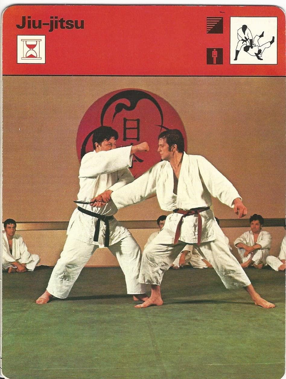 1977-79 Sportscaster Card, 18.06 Jiu-jitsu