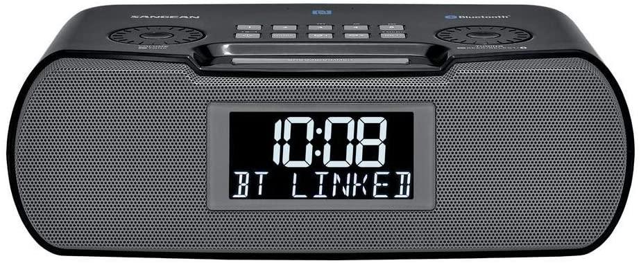 AM FM Pocket Radio,Portable Digital Radio Alarm Clock with 3.5mm Earphone Jack for Outdoor