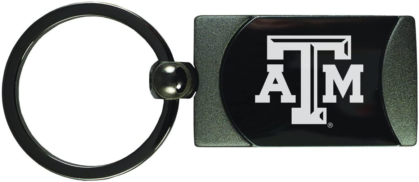 LXG, Inc. Texas A&M University -Two-Toned Gun Metal Key Tag-Gunmetal
