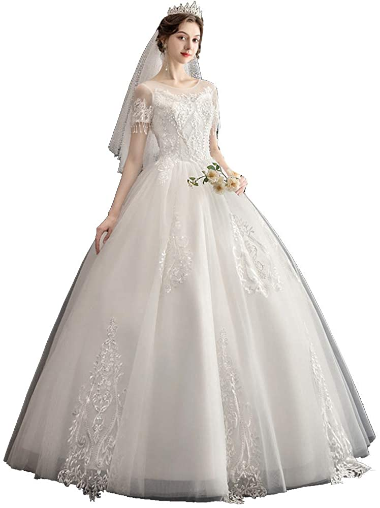 Wedding Dresses for Bride Chapel Beach Bridal Dress Floor Length Evening Cocktail Gowns Custom Size