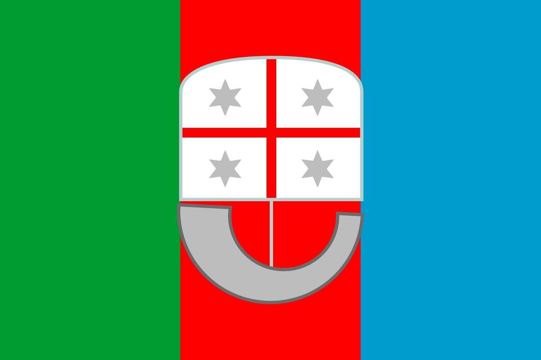 magFlags XXXL+ Flag Liguria   Landscape Flag   6.7m²   72sqft   200x335cm   6x11ft - 100% Made in Germany - Long Lasting Outdoor Flag