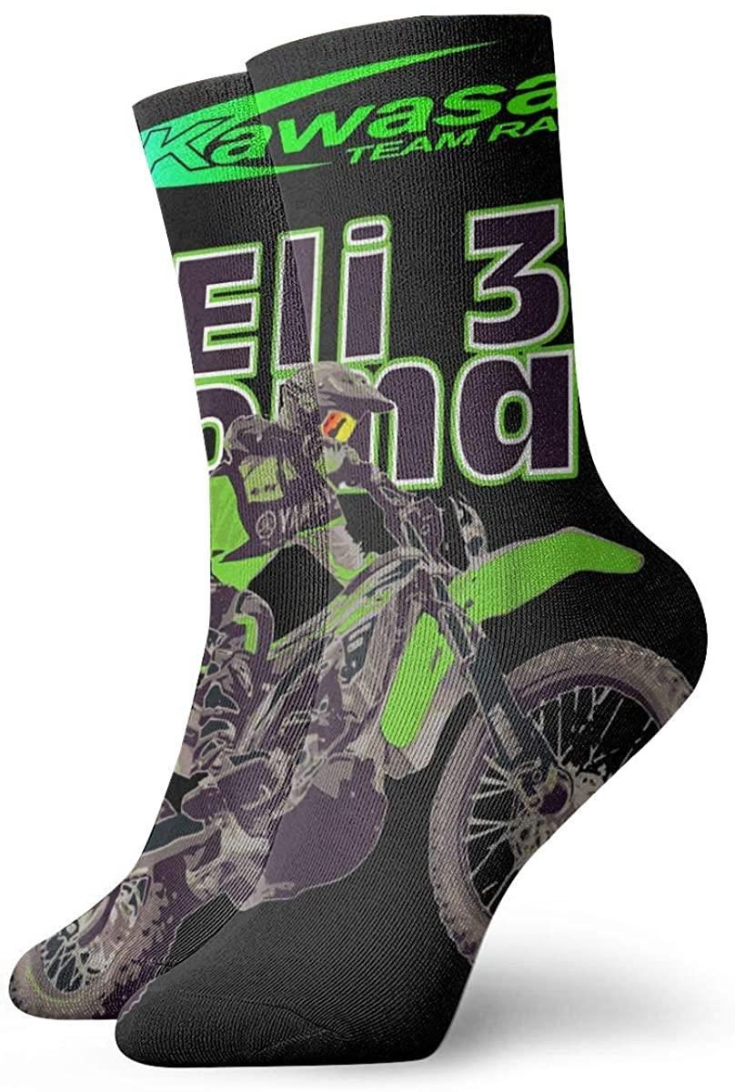 Kawasaki Racing Pure Cotton Socks All Seasons Unisex Youth Adult Girls Boys Women Men