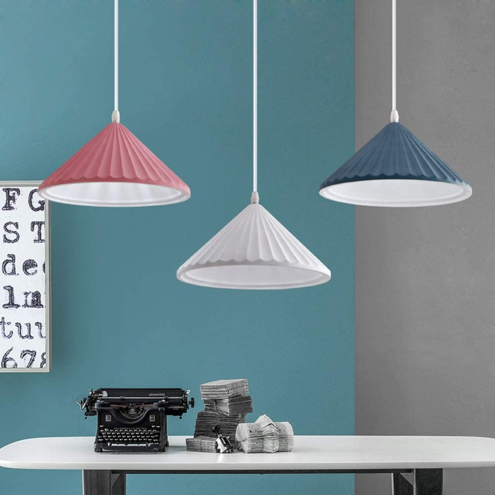 RuiXia Nordic Personality Creative Three Long Board Macarons Resin Material Chandelier Size 52cm 100cm Lamps, Good Light Transmission Beautiful