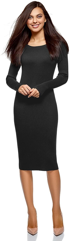 oodji Collection Womens Rib Knit Dress