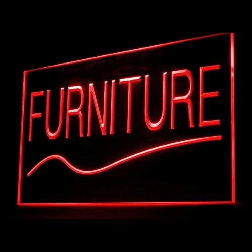 tigerneon 200032 Furniture Shop House Cupboard Cabinet Wooden Display LED Light Sign