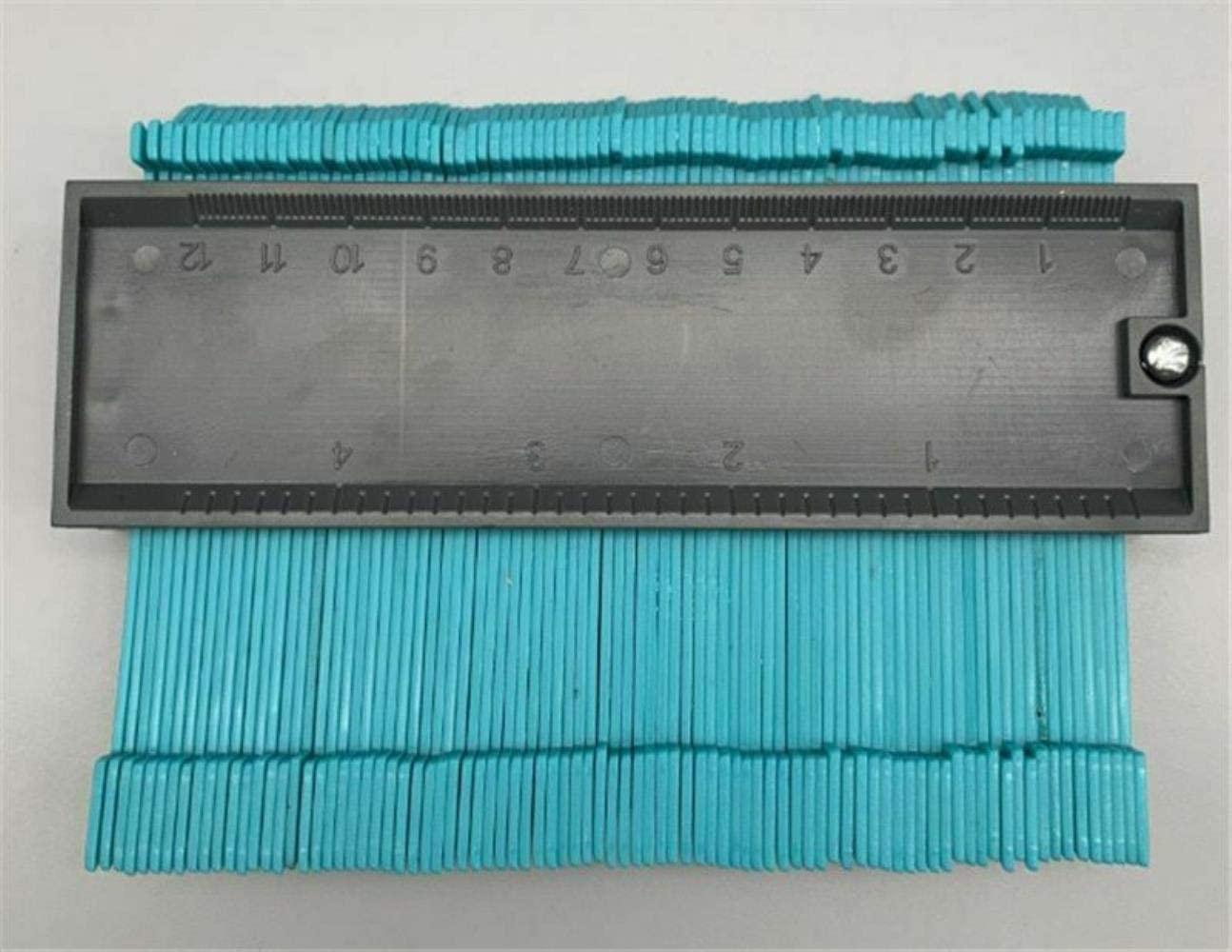 Contour Gauge,Wood Marking Tool Tiling Laminate Gauge Contour Profile Copy Gauge Duplicator,B
