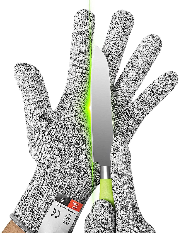 YINSHOME Cut Resistant Gloves, Safety Kitchen Gloves,Wood Carving&DIY Job