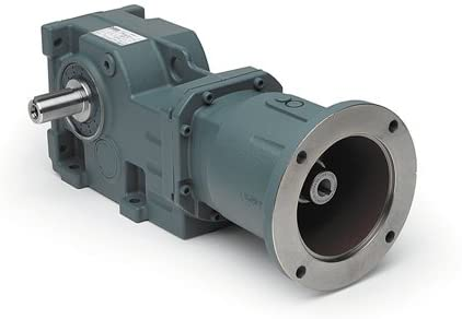 Dodge (Baldor) 17Q10R56 - Right Angle Worm Gear Speed Reducer - C-Face Quilled, 10: 1 Ratio, 1.5000 in, 1.7500 in Center Distance, Right Hand Output, 56C Frame