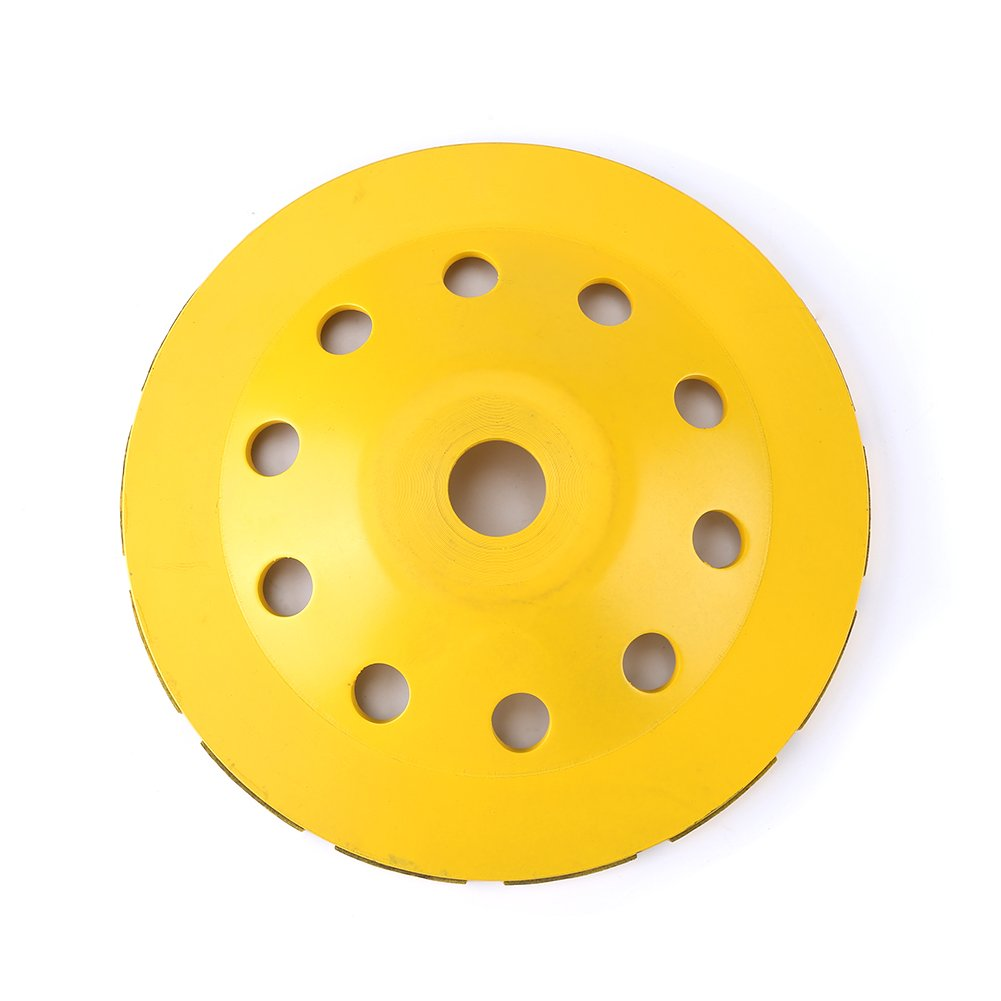 115/125/180mm Diamond Grinding Disc, Replacement Diamond Double Row Grinding Disc Brick Concrete Cut, Angle Grinder Accessories(180mm)