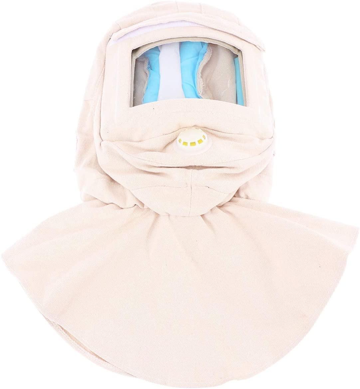 Milisten Sand Blasting Hood Cap Shawl Cap Sandblaster Face Shield Anti Dust Hood Personal Protective Gear