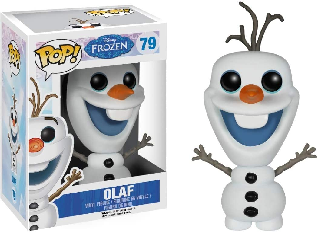 Olaf: Funko Pop! Vinyl Figure & 1 Compatible Graphic Protector Bundle (079 - 04258 - B)