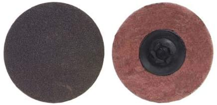 Quick Change Disc - 3 in Disc Dia, Aluminum Oxide Blend, P80 Grit, 30000 RPM (Pack of 30)