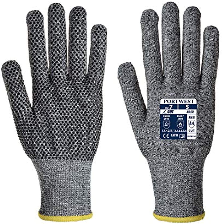 Portwest Sabre-Dot Glove - PVC & Bandana Bundle